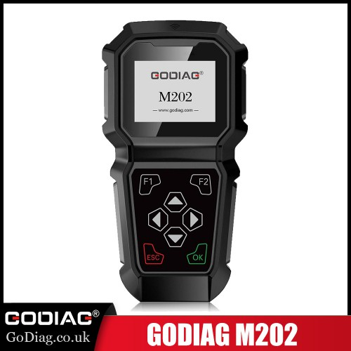 [Ship from US]GODIAG M202 for GM/Chevrolet/Buick Hand-Held Professional OBDII Odometer Adjustment Tool Supports English Russian Chinese
