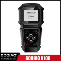 [Ship from US]GODIAG K100 Chrysler Jeep Hand-Held Professional OBDII Key Programmer