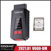 [FLASH SALE] 2021.03 GODIAG V600-BM Diagnostic and Programming Tool for BMW with Software HDD Supports English,German,Spanish,Russian