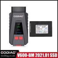 [FLASH SALE] 2021.03 GODIAG V600-BM Diagnostic and Programming Tool for BMW with Software SSD 500G Supports English,German,Spanish,Russian