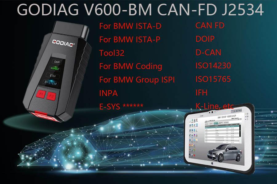 godiag v600 bmw scanner